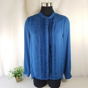 Adrianna Papell Large Pleated Front Blouse 3088